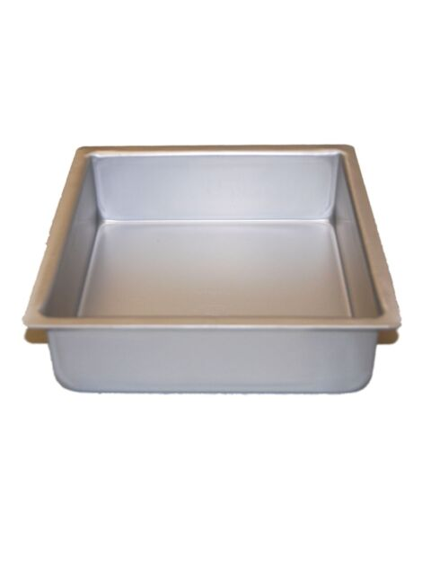 """Fat Daddio's Square Cake Pans 5"""" X 3"""" Heavy Duty"""