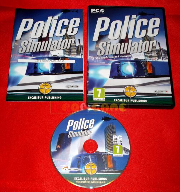 POLICE SIMULATOR Pc Versione Italiana - COMPLETO - DG