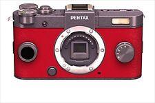 Pentax Q-S1 12.4 MP Mirrorless Digital Camera Red