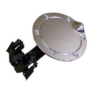 01-10-Chrysler-PT-Cruiser-Chrome-Fuel-Door-Filler-Gas-Door-OEM-Factory-Accessory