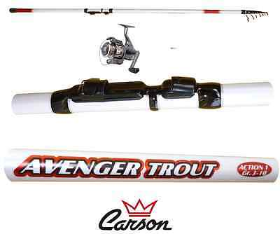 Other Fishing Rods Mulinello 2000 Pesca Trota Lago Tremarella Bombarda We Take Customers As Our Gods Combo Canna Avenger 10/30g
