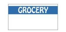 Monarch 1110 Grocery Blue Amp White Price Gun Labels Free Shipping 1062 Total Lbls