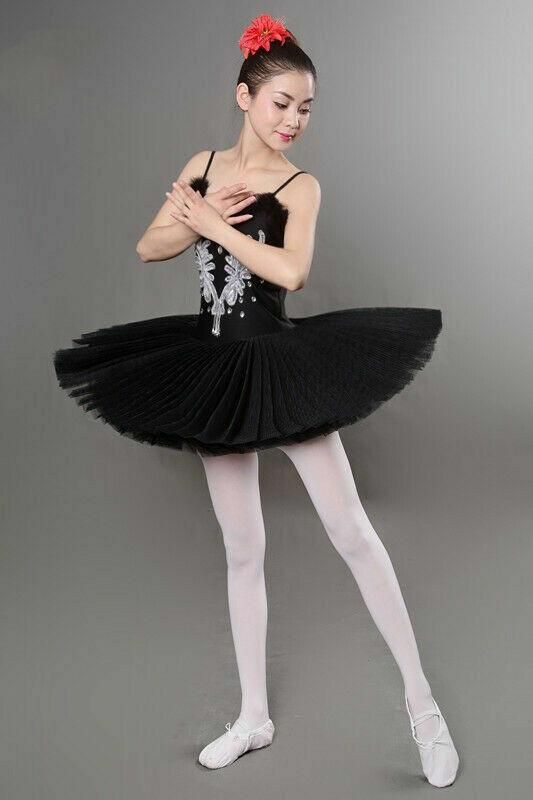New Women's UK Lake Ballet Tutu Dress Skirt Dancewear Unitard Leotard Ballerina