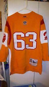 Leroy Selmon. NFL Tampa Bay Buccaneers Throwback Long Sleeve Jersey ... 7e7ee6731