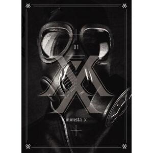 MONSTA-X-TRESPASS-1st-Album-CD-92p-Booklet-Photocard-K-POP-Sealed