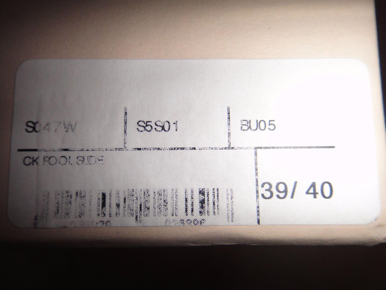 Christopher Kane Marroneee pelle GIGANTE Crystal Crystal Crystal POOL CURSORI TG 6 57bc4f