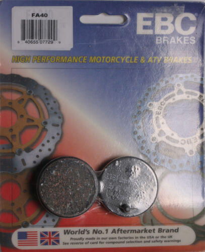 EBC BRAKE PADS Fits Honda CB125S,FL250 Odyssey Polaris Cyclone 250X