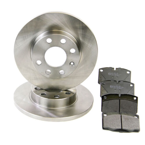 Pagid Front Brake Kit Discs /& Pads Set 236mm Solid Delco System Vauxhall Nova