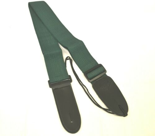 CNB GUITAR STRAP IN GREEN ELECTRIC ACOUSTIC MANDOLIN