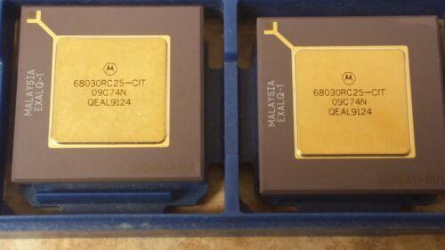 HCMOS MC68030RC25-CIT MOT Microprocessor 32-Bit 1PC CPGA128 25MHz