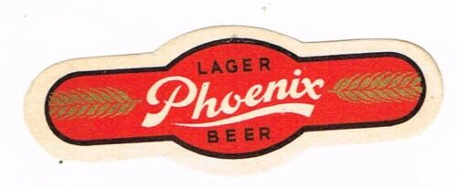 1930s MICHIGAN Bay City Phoenix Lager Beer Neck Label Tavern Trove
