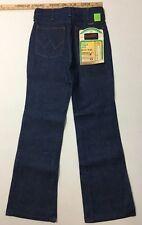 Vtg Wrangler Slim Fit Boot Jean No Fault  27x31 Sanforset Talon Zipper Deadstock