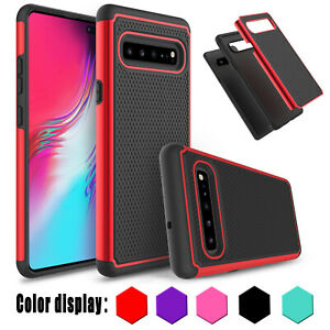 For-Samsung-Galaxy-S10-5G-Phone-Case-Shockproof-Slim-Hybrid-Armor-Rubber-Cover