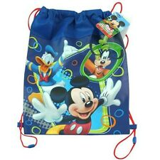"""NEW DISNEY """"MICKEY"""" MOUSE NON WOVEN SLING BAG CLUBHOUSE DISNEY JUNIOR"""