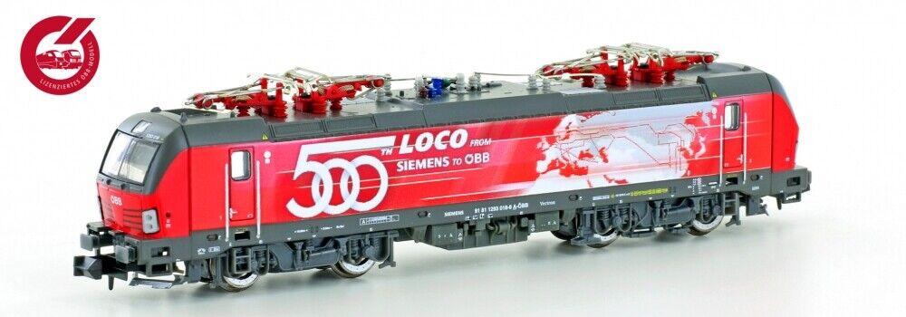 Hobbytrain H3001 E-Lok Rh1293 Vectron ÖBB 500 Loco, Ep.VI  DSS  NEUHEIT 2019