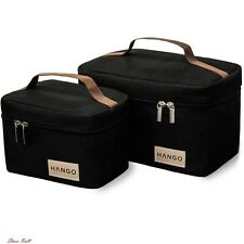 Lunch Boxes for Adults Bottle Cooler Bag Insulated Women Man Food Storage Set