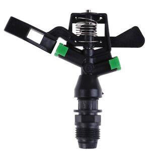1 2 Ugello Irrigatori In Plastica 360 Gradi Girevole Per Irrigazione Giardino Ebay