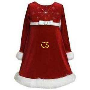 image is loading nwt 46 girls bonnie jean red velvet fur