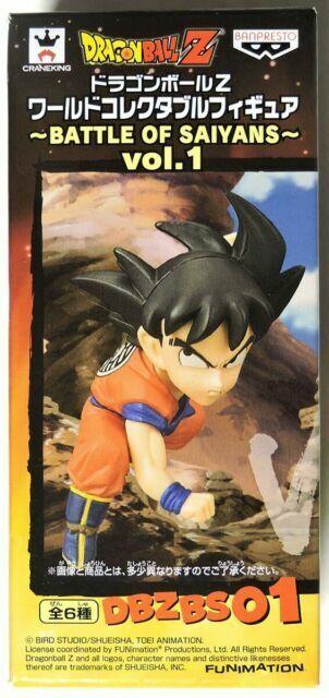 Banpresto WCF Dragonball Z Battle Of Saiyans Vol 1 DBZBS01 Son Goku