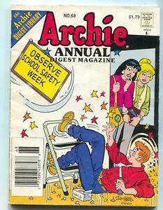 Archie-Annual-Digest-Magazine-Library-68-1995-FN-Betty-Veronica
