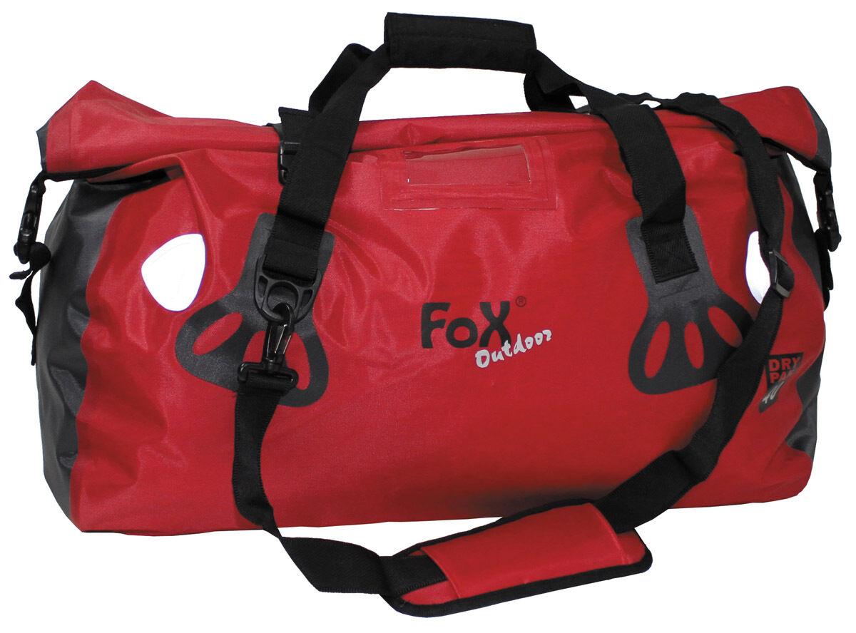 MFH FoX Outdoor Tragetasche Dry Pak 40 Transporttasche Sporttasche red 40l