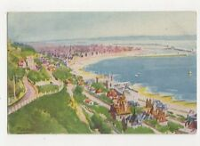 Panorama Pres de la Heve by Fred Money Vintage Art Postcard France 301a