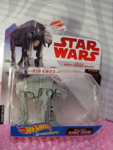 LAST JEDI Star Wars FIRST ORDER HEAVY ASSAULT WALKER ✰stand✰Hot Wheels✰Starships
