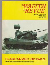 Waffen Revue Nr.24 1977 Flakpanzer Gepard