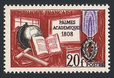 Postfrisch Palme Blatt Der Französische Akademie Jubiläum Von Der Konsumierenden öFfentlichkeit Hoch Gelobt Und GeschäTzt Zu Werden Neueste Kollektion Von Frankreich 905 150