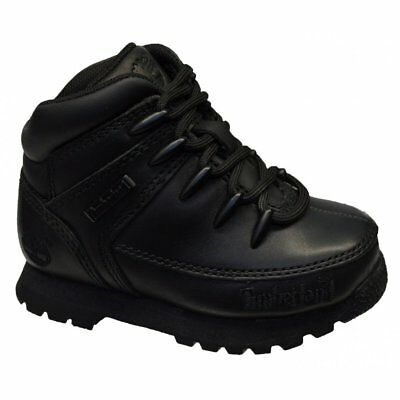 Toddlers Childrens Infants Kids Boys Timberland Euro Sprint Boots Shoes UK 6 11