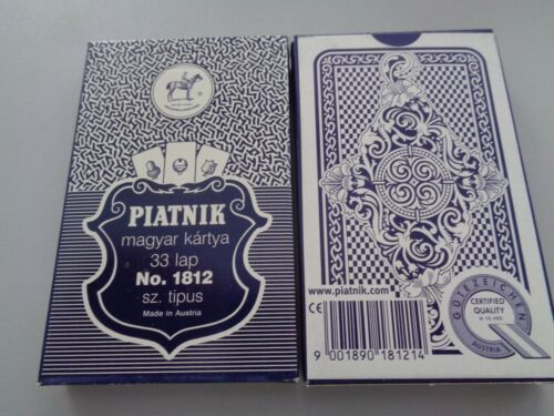 Piatnik Nr.1812 altes deutsches Bild 33 Karten Aus Sammlungsauflösung