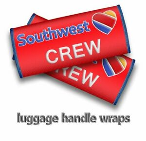 Southwest-Airlines-CREW-Luggage-Handle-Wraps-x2
