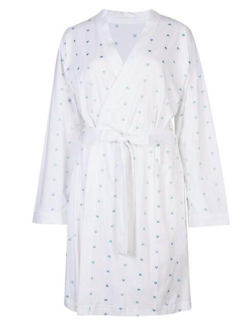 Ladies M&s Size18 Cool Comfort Cotton Dressing Gown Robe La Maison ...