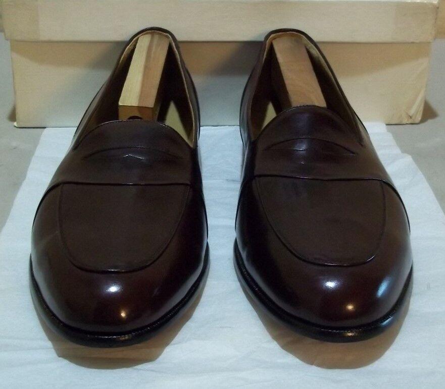 New Prvt. Label: by Mezlan #6121 16 M burgundy (5713) Scarpe classiche da uomo