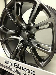 20-Inch-Hyper-Silver-2012-Jeep-Grand-Cherokee-SRT8-OE-Wheels-Dodge-Durango-20x10