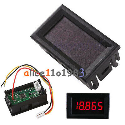 "Red 0.36""  LED 5 Digit DC 0-33.000V Digital Voltmeter Voltage Meter Car Panel"