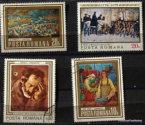 Romania-Paintings-Painter-Pack-Stamps-78M19