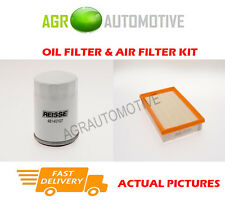 PETROL SERVICE KIT OIL AIR FILTER FOR FORD FOCUS C-MAX 1.8 125 BHP 2004-07