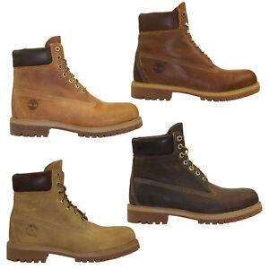 Timberland-6-Inch-Premium-Boots-Waterproof-Schnurstiefel-Herren-Stiefel-Schuhe