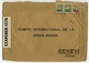 CHINA-1944-Red-Cross-cover-Shanghai-to-Geneva-50-6-1-Japanese-censor-chop