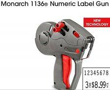 Brand New Monarch Paxar 1136 Label Gun 1136 New Technology
