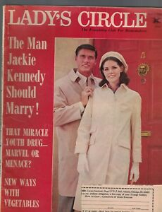 Lady-039-s-Circle-Magazine-November-1965-Bob-Barker-Jackie-Kennedy-Vidal-Sassoon