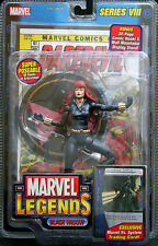 BLACK WIDOW Red Head Avengers Marvel Legends VIII Series 8 Action Figure MOC