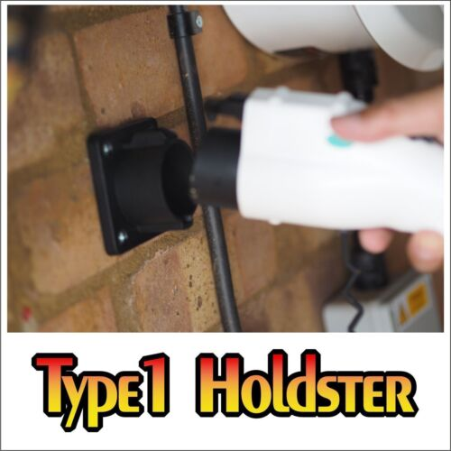 Keeps Type 1 Plug Dry Clean and Out of the Way Plug Holder Type 1 J1772