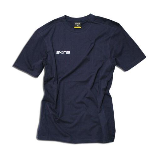 Mens SKINS Soft Cotton Basic T-Shirt Medium /& Large R.R.P £24.99