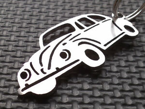 VW-BEETLE-Porte-cles-KAFER-OVAL-TYP-1-BUS-1-18-BUG-VDO-WEBER-T1-1-43-1-2-Embleme