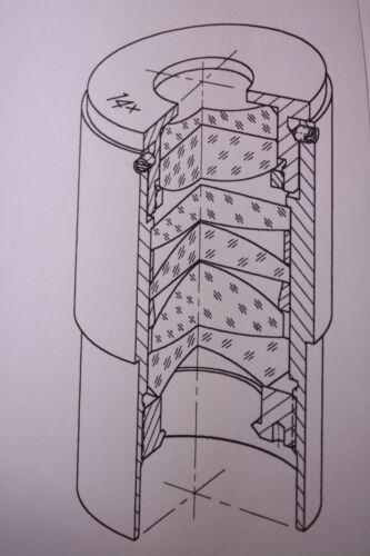 """PIÑÓN de cadena de rodillos clave de diámetro de 5SR10 25mm y 2 tornillos de GRUB 5//8/"""" Pitch 10 diente"""