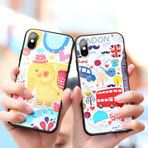 TPU-Embossed-Cartoon-Phone-Case-Cover-for-iPhone-X-XS-XR-XSMAX-7-8-7Plus-8Plus