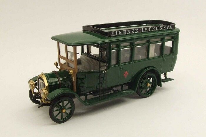 Rio 4361 - Fiat 18 BL Autobus Florence - Impruneta - 1915 verde 1 43