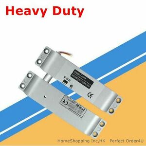 DC12V Fail-Safe Electric Drop Bolt Lock for Door Access Control System Use